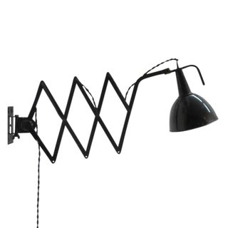 Kandem Scissor Wall Lamp, 1930 For Sale