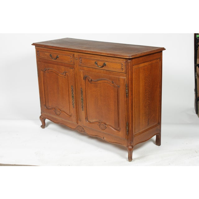 Mid-Century Louis XV-Style Buffet For Sale - Image 10 of 12