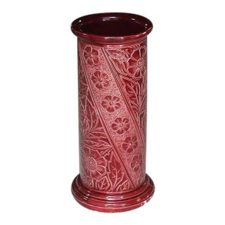 Art Pottery Decorated Umbrella Stand