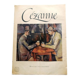 1950s Cezanne Art Book With 16 Prints For Sale