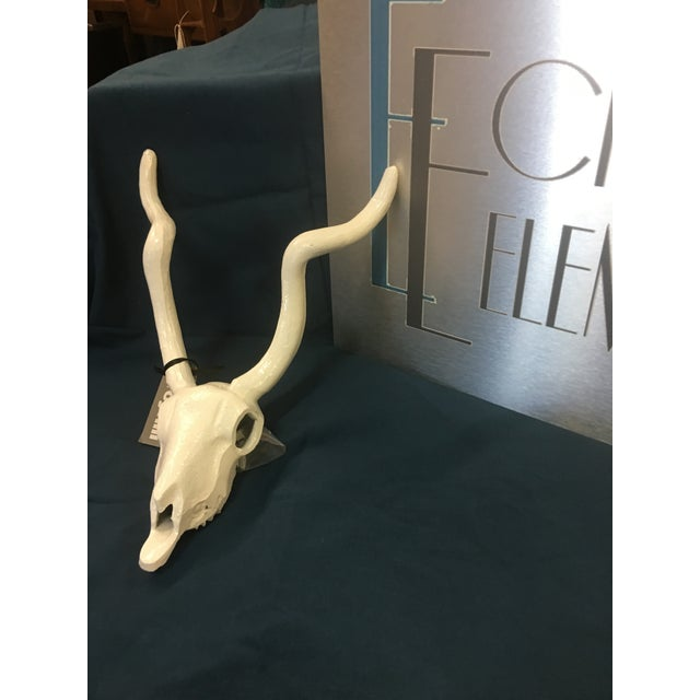Broyhill White Antelope Wall Decor For Sale In Cincinnati - Image 6 of 9