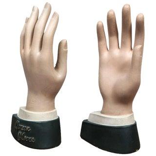 1920s Men's Mannequin Hands - A Pair For Sale