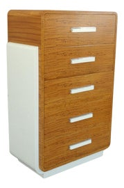 Image of Art Deco Filing Cabinets