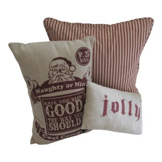 Christmas Pillows-3 Pieces