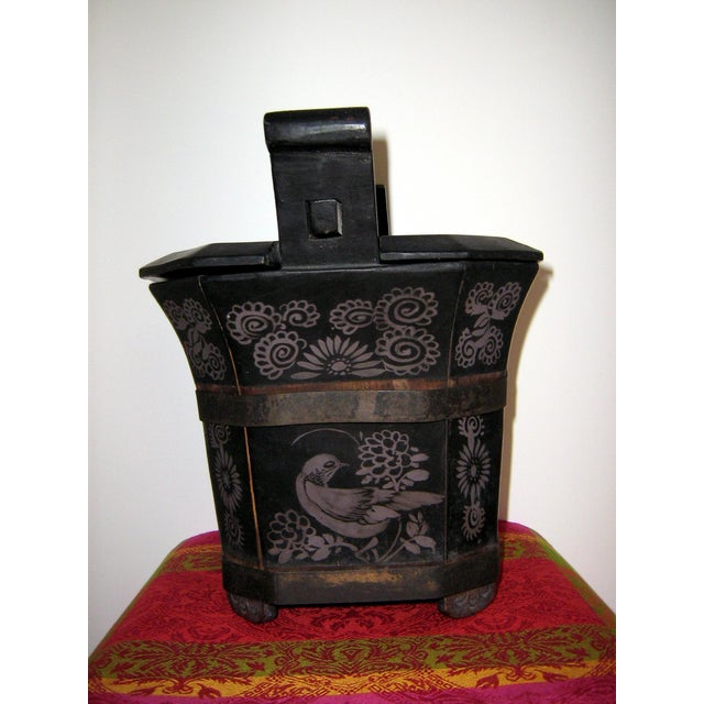 Asian Qing Dynasty Chinese Teapot Box For Sale - Image 3 of 10