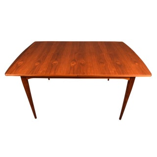"Mid Century Vintage Kipp Stewart for Drexel Walnut ""Declaration"" Dining Table For Sale"