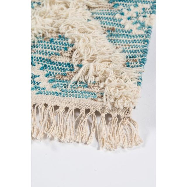 Textile Harper Aqua Hand Woven Area Rug 3' X 5' For Sale - Image 7 of 9