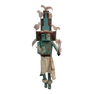 Hemis Metal Kachina Wall Sculpture