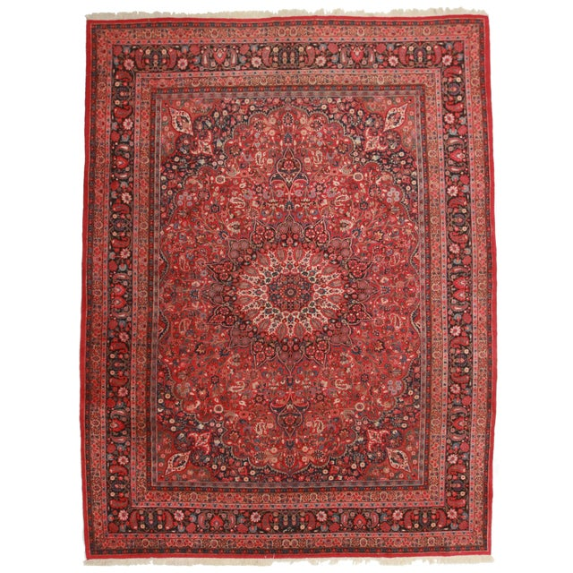 """Persian Mood Rug - 9'8"""" x 12'9"""" For Sale"""