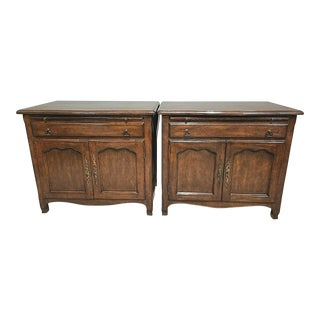 Minton-Spidell Of L.A. French Country Nightstands - A Pair For Sale