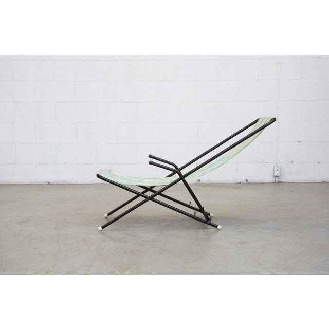 Vintage Pilastro Style Beach Sling Chair - Image 6 of 10