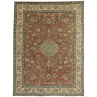 20th Century Persian Tabriz Gallery Rug For Sale