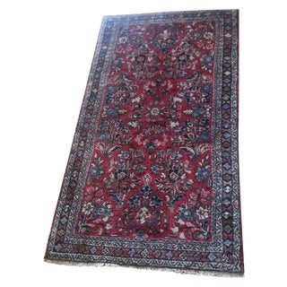 Antique Persian Rug - 2′1″ × 4′ For Sale