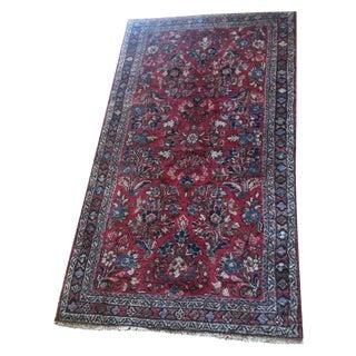 Antique Persian Rug - 2′1″ × 4′