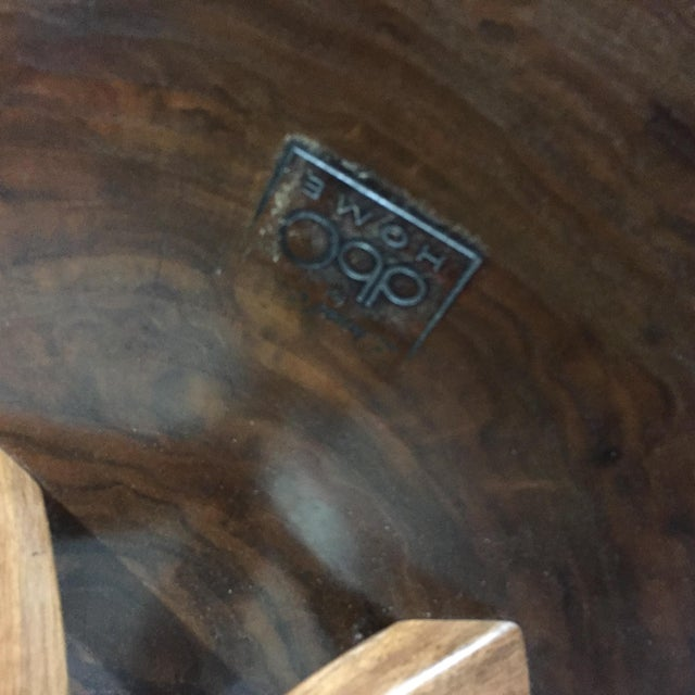 Daniel Oates Live-Edge Claro Walnut Coffee Table For Sale - Image 12 of 13