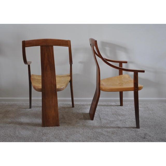 Robert Erickson Signed Van Muyden Arm Chair - Image 3 of 6