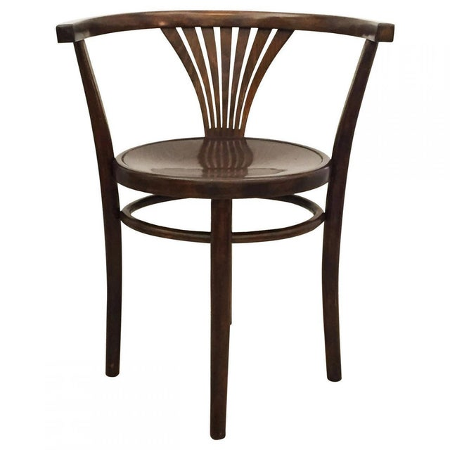 Beech Antique armchair by Michael Thonet, 1900 For Sale - Image 7 of 7