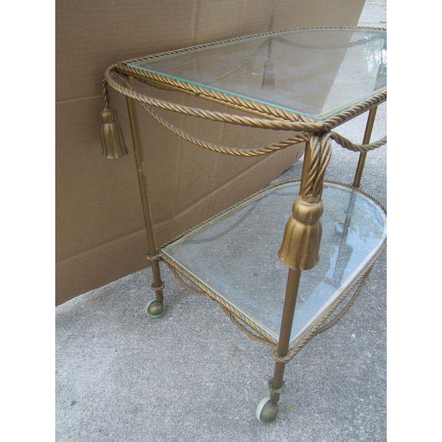 Vintage Italian Bar Cart - Image 2 of 6