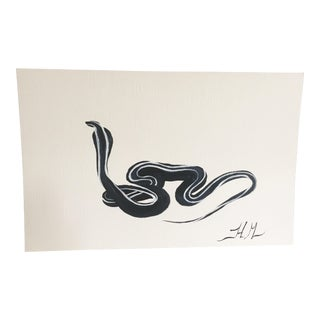 Black Cobra Original Painting