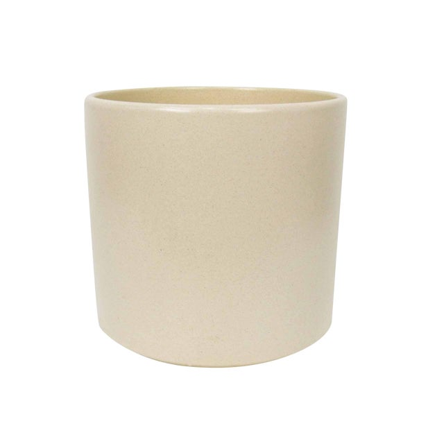 Gainey Ceramics AC-12 Off-White Planter For Sale