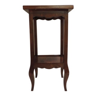 Antique Small Saber Leg Telephone Table For Sale
