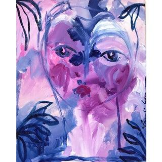 """""""Viola"""" Original Acrylic Painting"""