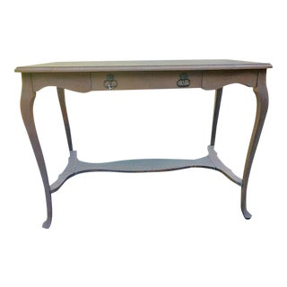 Small Antique Quarter Sawn Oak Desk