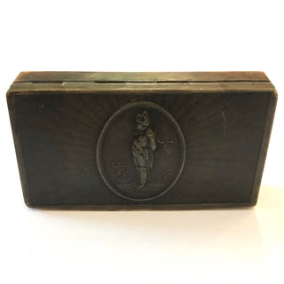 Emperor Napoleon Brown Horn Snuff Box Preview