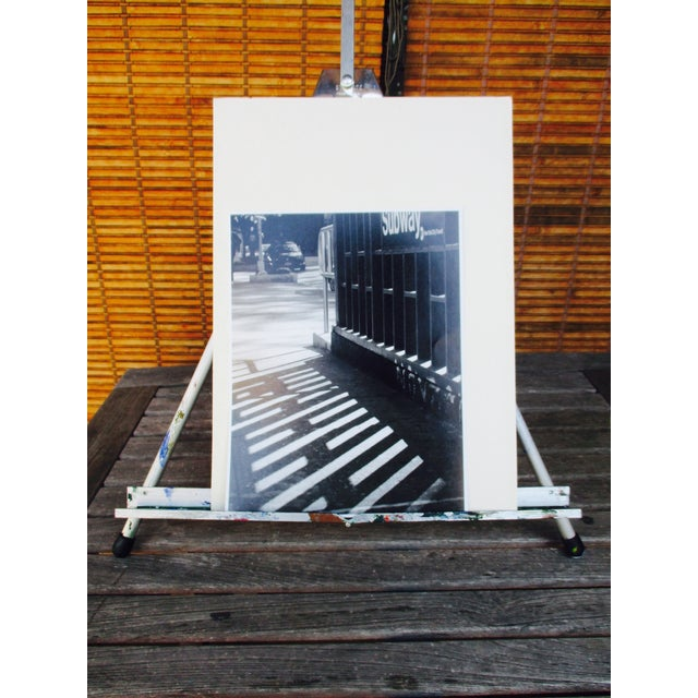 Folding Easel & Original NYC Subway Photograph - Image 11 of 11