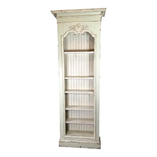 Vintage French Country Bookcase For Sale