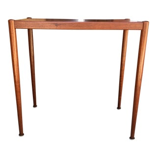 1960s Danish Modern Poul Jensen Teak Side Table For Sale