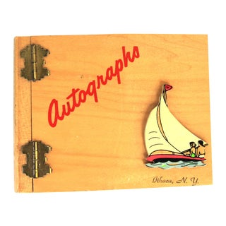 Ithaca NY Autographs Book For Sale