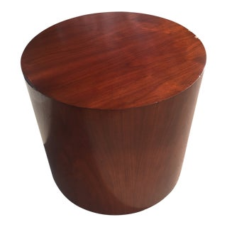 Modern Kimball Cylindrical Drum Occasional Table For Sale