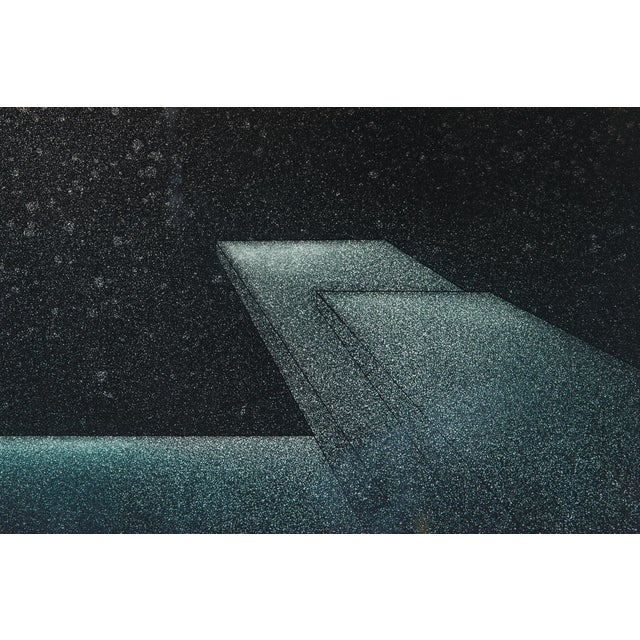 1977 Signed Abstract Lithograph - Image 5 of 7