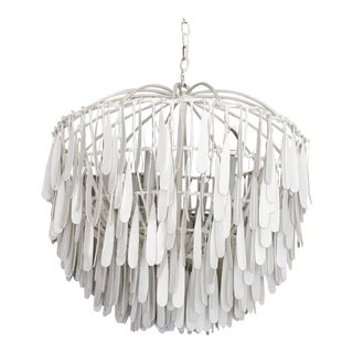 Modern Fisher Wiseman Gilded Cage Round Chandelier For Sale