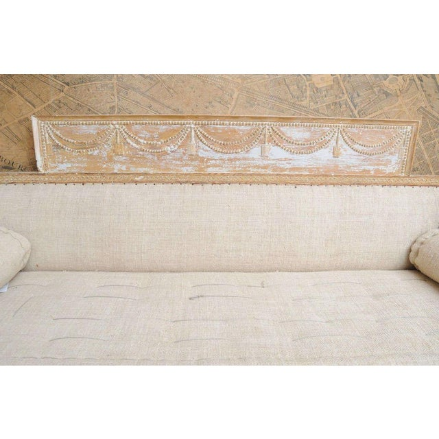 Early Gustavian Bench With Beautiful Carved Decoration All Around. For Sale In Washington DC - Image 6 of 11
