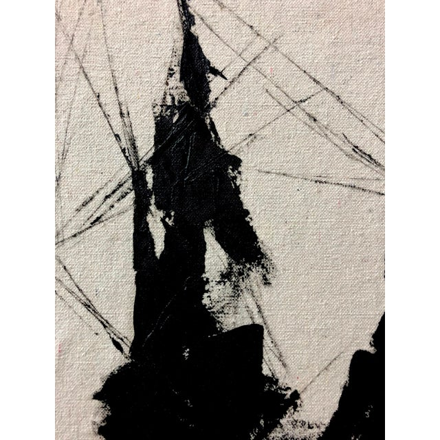 This painting by Thomas blends her interest in incorporating aesthetic principles from industrial design as well as...