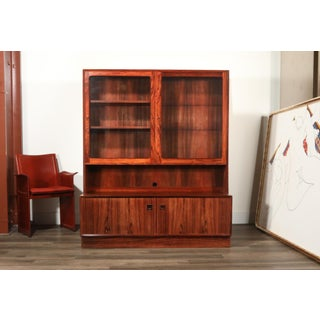 Rosewood Danish Modern Display Cabinet by Eric Brouer for Brouer Møbelfabrik Preview
