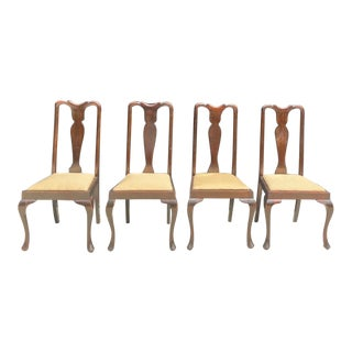 1970s Vintage Regency Dining Chairs - Set of 4 For Sale