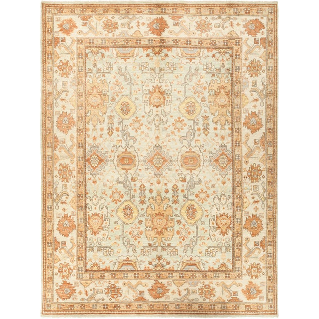 """Lois, Oushak Area Rug - 7' 10"""" X 10' 5"""" For Sale - Image 4 of 4"""