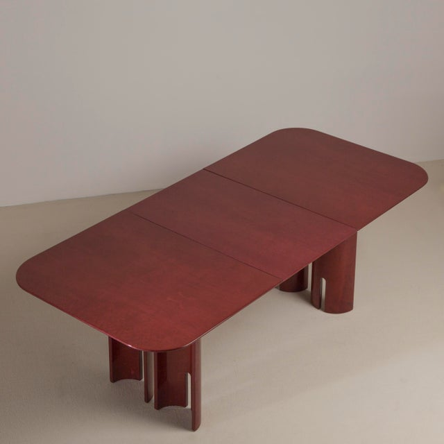 1990s A Saporiti Designed Extendable Dining Table, 1990s For Sale - Image 5 of 8