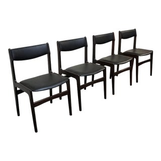 "Danish Mid Century Dining Chairs - Set of 4 - ""Streymoy"" For Sale"
