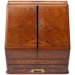 19th Century English Partridge and Cooper Lap Desk For Sale