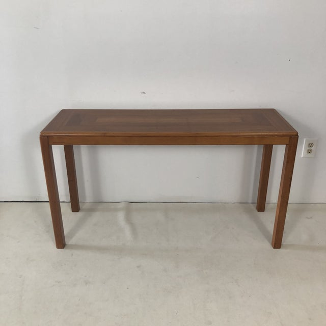 1970s 1970s Laurits M Larsen Danish Teak Console Table For Sale - Image 5 of 5