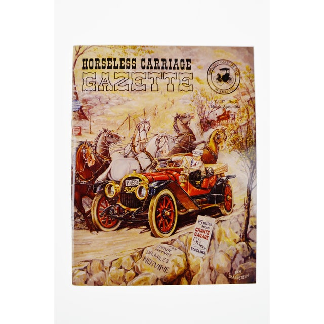 Horseless Carriage Gazette Magazines - 1965 Full Year - Collectible For Sale - Image 4 of 10