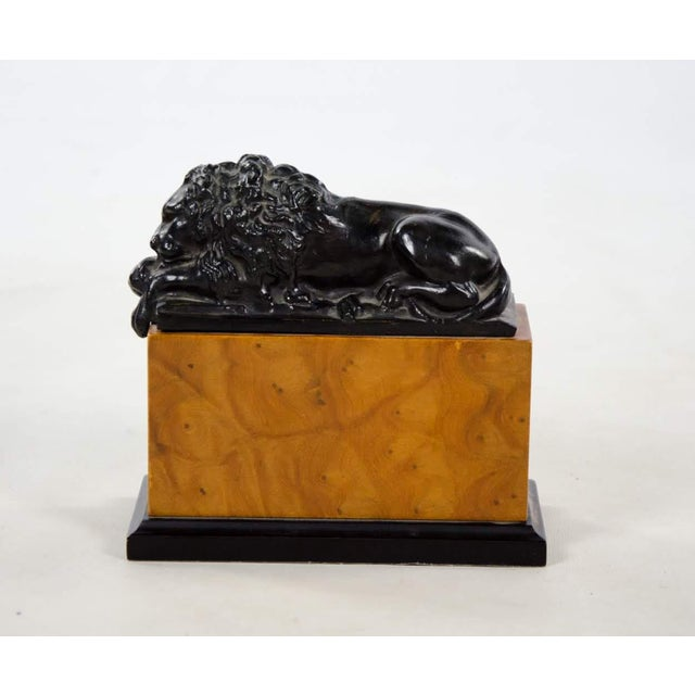 Mid 20th Century Italian Neoclassical Style Lion Bookends - a Pair For Sale - Image 5 of 9