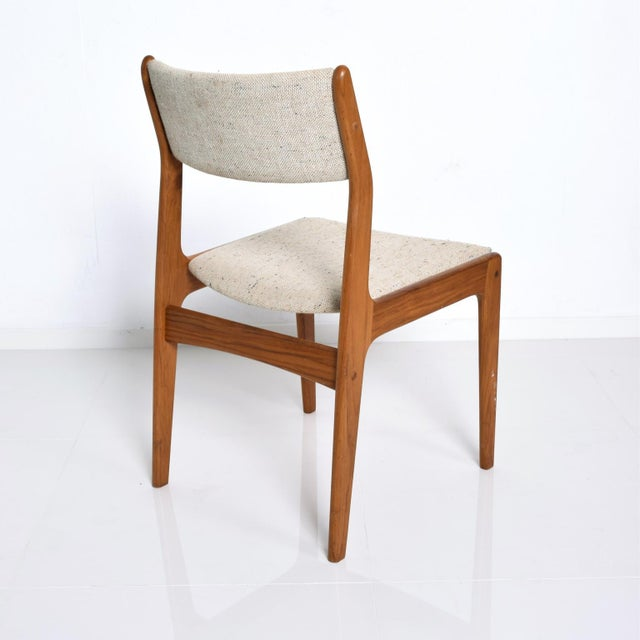 Brown Benny Linden Mid-Century Danish Modern Teak Dining Chairs - Set of 4 For Sale - Image 8 of 11