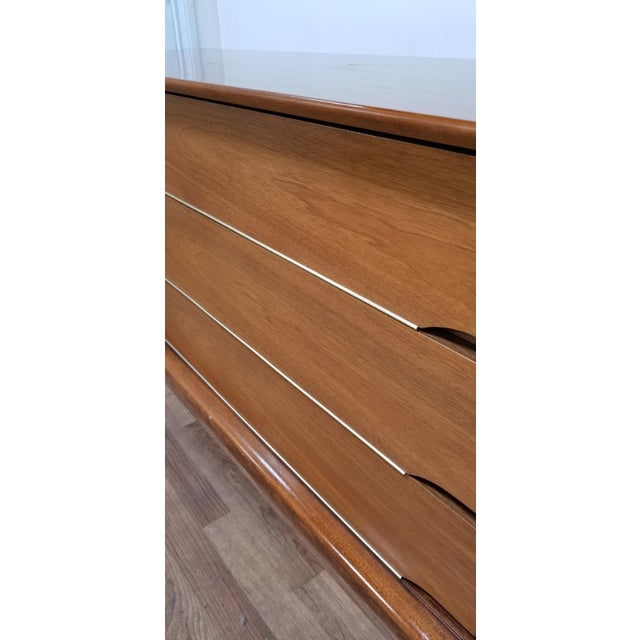 1960s Scandinavian Modern Kent Coffey Forum Credenza Buffet Dresser For Sale In Los Angeles - Image 6 of 13