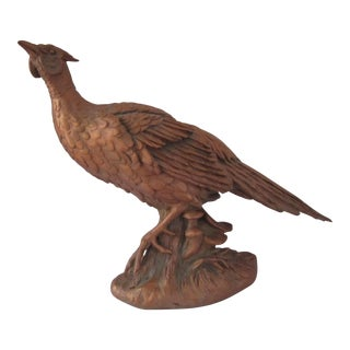Large Vintage Pheasant Figurine For Sale