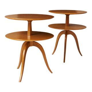 Paul Frankl Occasional Tables - a pair For Sale